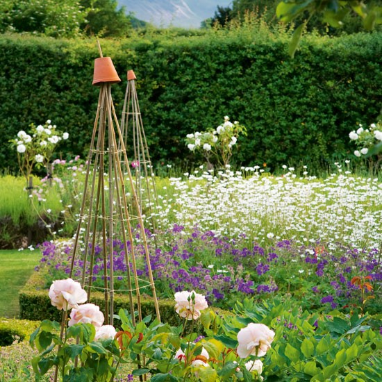 Flower garden | Country garden design idea | housetohome.