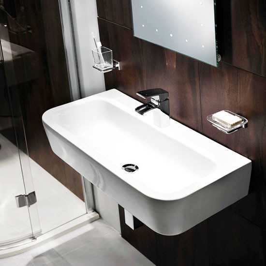 Clarence basin from B&Q | Cloakroom feature basins - 10 of the