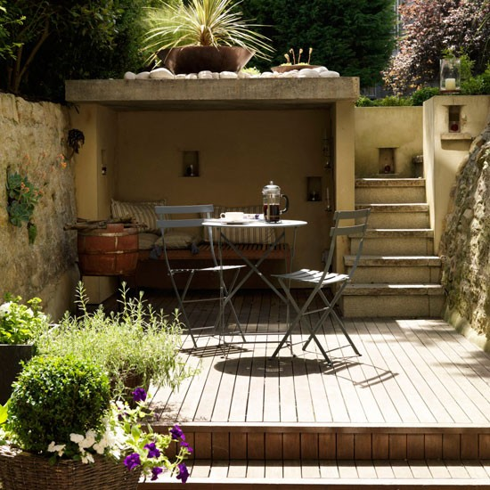 Create a garden on different levels | Small town garden ideas - 10 ...