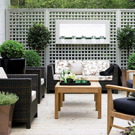 Create a living room space | Create a small town garden | Small garden | Garden design | PHOTO GALLERY | Housetohome