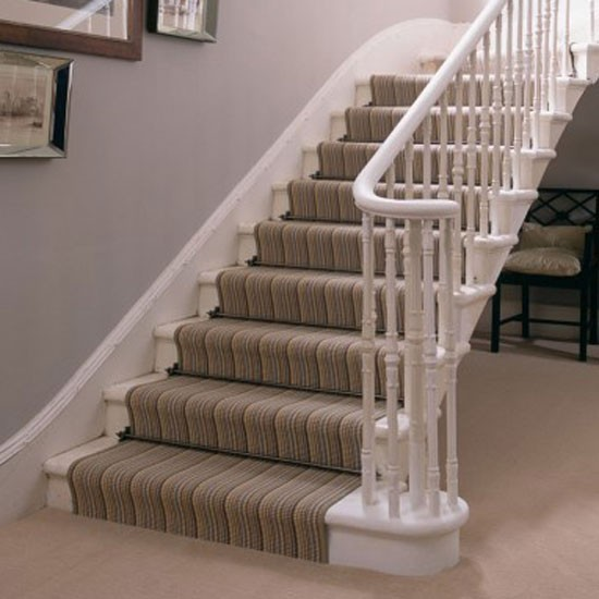 Carpet Runner On Stairs With Landing