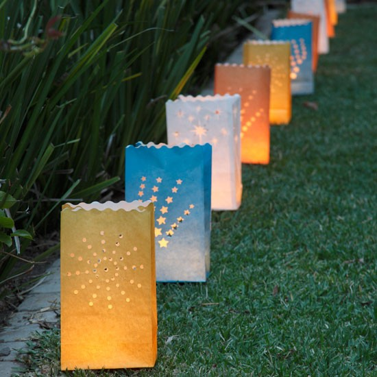 Garden pathway lanterns | Garden lighting | Garden party idea | Image | Housetohome