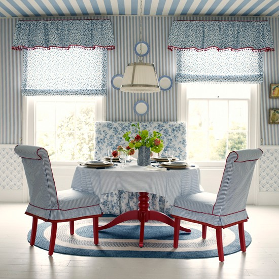 New england dining room blue dining room for New england dining room ideas