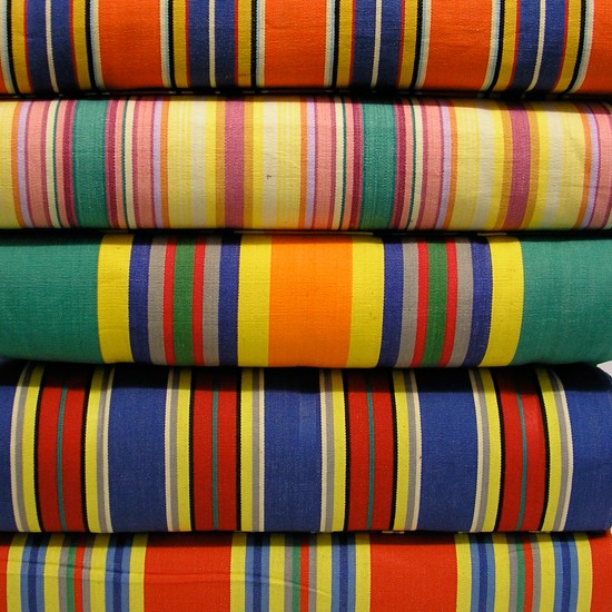 striped deck chair fabric 2