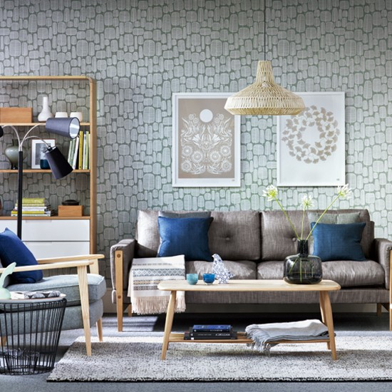 Mid-Century modern living room | Mid-Century modern | Living room | Image | Ideal Home | Housetohome
