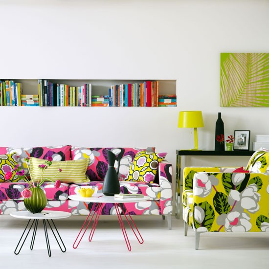 Tropic-inspired living room | Bright living room | Living room design | Image | Housetohome