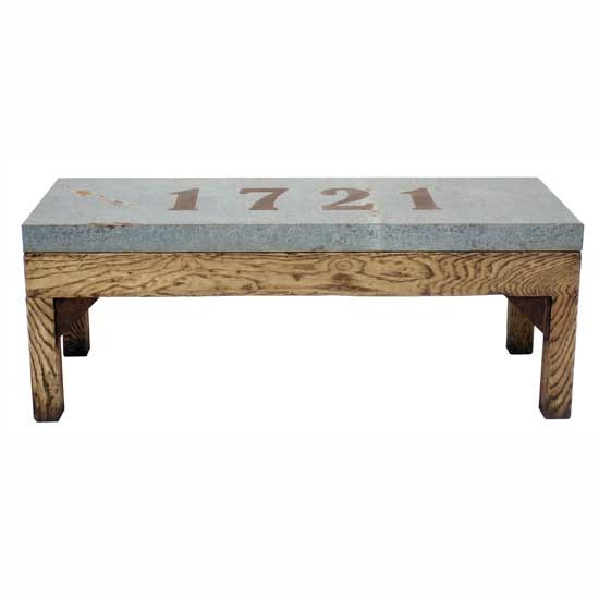 Navarre bench coffee table from Andrew Martin | Patchwork | Country trend 2011 | Decorating trends 2011 | Decorating ideas | PHOTO GALLERY | Country Homes & Interiors | Housetohome