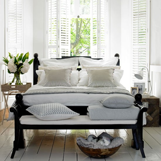 Relaxed neutral bedroom | Neutral bedroom ideas | Bedroom decorating | Image | Housetohome