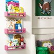 Children's room bookshelves