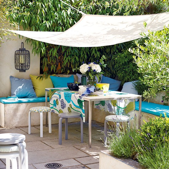 Gardens ideas gardens seats small patios decor ideas for Terrace seating ideas