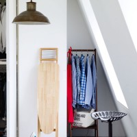 Alcove laundry space