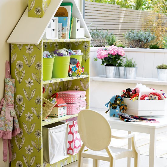 Transform a bookcase into a dolls house | 10 best kids' playroom storage ideas | childrens room ideas | design inspiration | housetohome