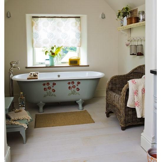 Bring Pattern Into A Bathroom How To Create Prairie