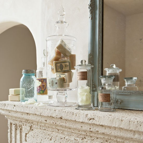 Showcase items from the parfumerie | How to create a French-style home | French decorating ideas | Country decorating | PHOTO GALLERY | Country Homes & Interiors | Housetohome