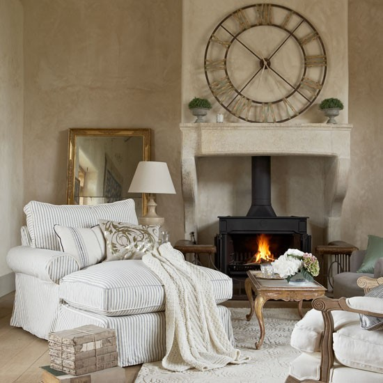 Choose tickings and linens for upholstery | How to create a French-style home | French decorating ideas | Country decorating | PHOTO GALLERY | Country Homes & Interiors | Housetohome