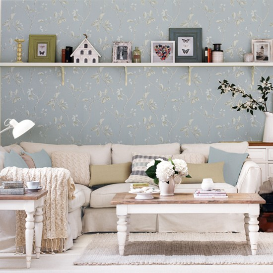 Eclectic country living room living room for Country living room ideas uk