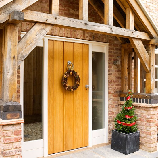 Exterior | Step inside a new-build home dressed for Christmas | House tour | Christmas decorating ideas | PHOTO GALLERY | Ideal Home | Housetohome