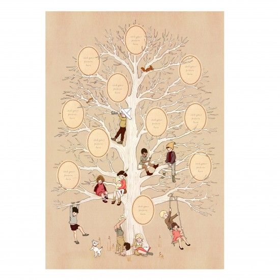 Family Tree Poster from Belle & Boo | Unique Christmas ...