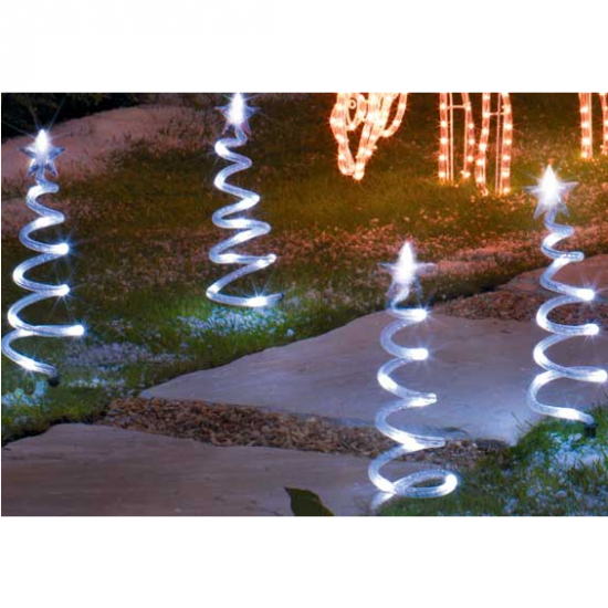Mini Christmas Tree Path Finders from Argos | Outdoor Christmas lighting | Christmas lighting | Lighting | PHOTO GALLERY | Housetohome.co.uk
