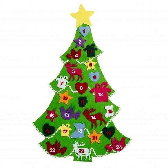 felt advent tree calendar from debenhams christmas. Black Bedroom Furniture Sets. Home Design Ideas