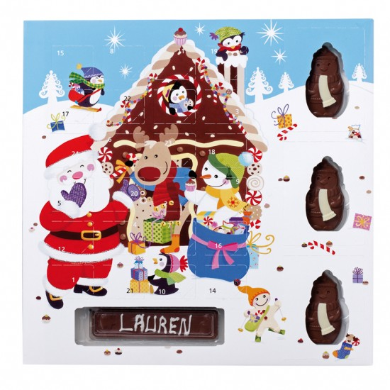 Large advent calendar from Thorntons | Christmas advent calendars | Advent calendars | Christmas decorations | PHOTO GALLERY | Housetohome.co.uk