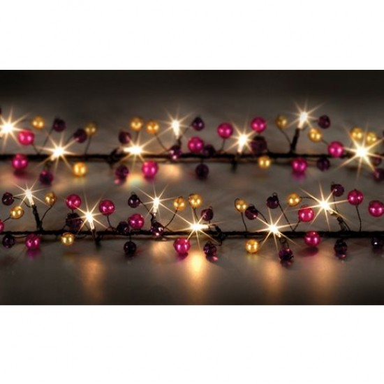 Eastern Jewel Garland from House of Fraser | Indoor Christmas lighting | Christmas lighting | Lighting | PHOTO GALLERY | Housetohome.co.uk