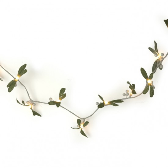 Mistletoe String Lights from Laura Ashley | Indoor Christmas lighting | Christmas lighting | Lighting | PHOTO GALLERY | Housetohome.co.uk