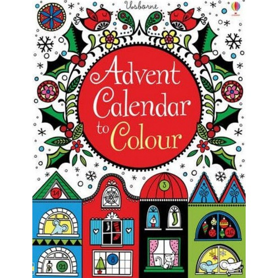 Advent Calendar Ideas Uk : Advent calendar to colour from rhs christmas