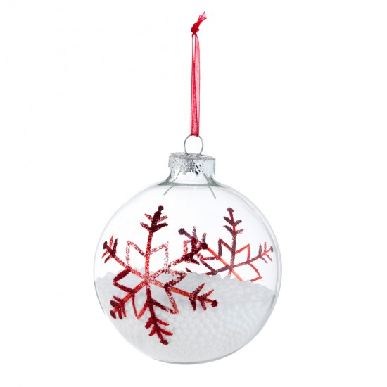 Snow Filled Bauble From Asda Christmas Baubles Best Of