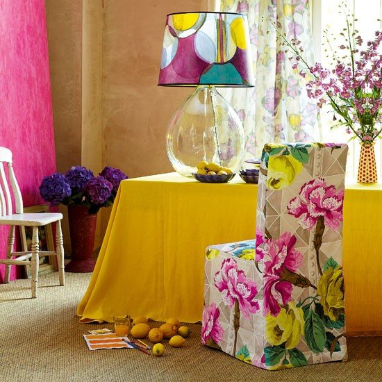 Painted dining room | Paintwork | Living room | Image | Housetohome