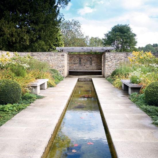 Modern Stone Garden Design Idea Housetohomecouk