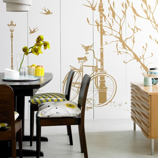 Parisian chic dining room | Bespoke | Image | Housetohome