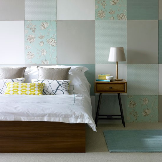 Patchwork bedroom | Bespoke | Image | Housetohome