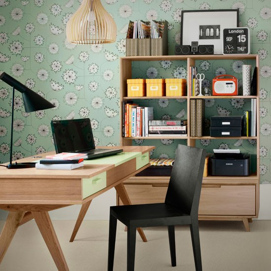 retro home office home office idea