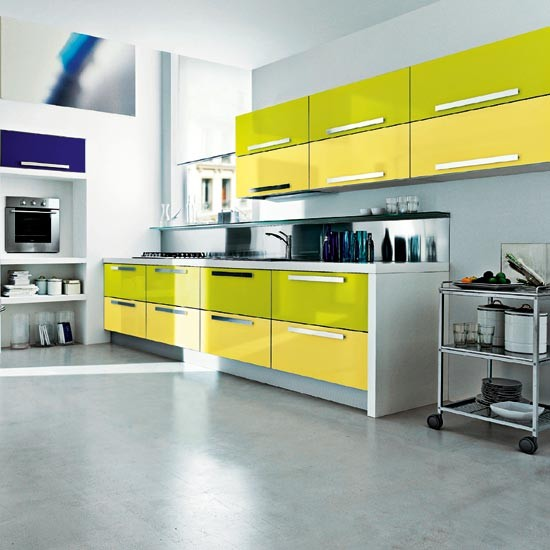 Yellow Green Kitchen : Lime green kitchen  Summer colour schemes and home trends ...