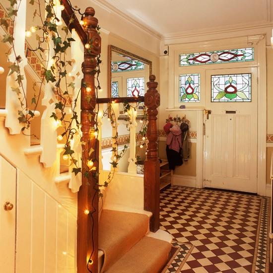 Festive Hallway Step Inside This Cosy Christmas Retreat