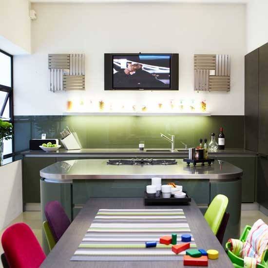 Colourful kitchen diner | Kitchen-diners - 10 of the best ideas