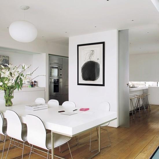 White Kitchen Diner Kitchen Diner Ideas For Easy Living