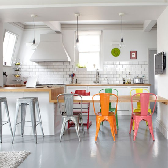 Kitchen | Take a tour around a family-friendly mansion flat | House tour | PHOTO GALLERY | Livingetc
