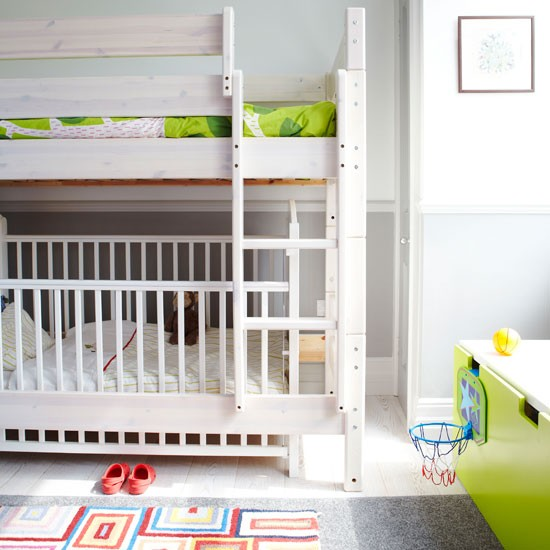 Kids' bedroom | Take a tour around a family-friendly mansion flat | House tour | PHOTO GALLERY | Livingetc