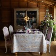 Country-style Christmas table ideas