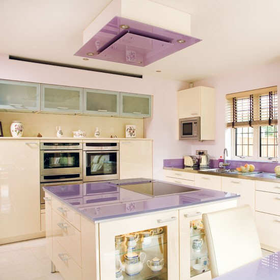Lilac kitchen | Take a tour around this feminine lilac kitchen | | Reader kitchen | PHOTO GALLERY | Beautiful Kitchens