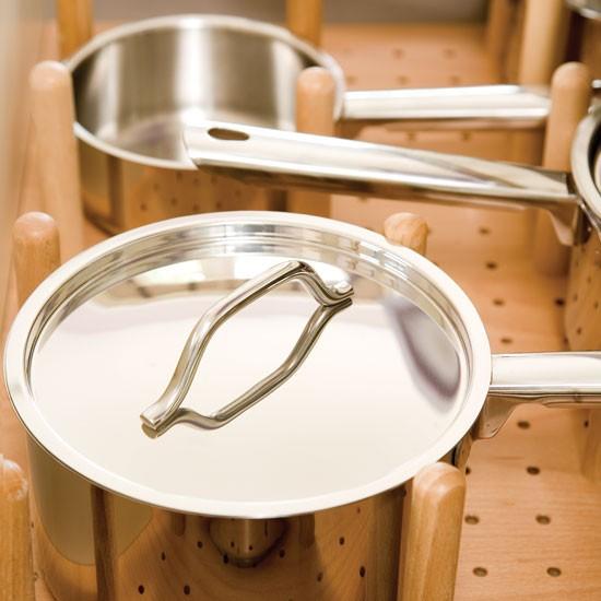 Pan drawers | Take a tour around this feminine lilac kitchen | | Reader kitchen | PHOTO GALLERY | Beautiful Kitchens