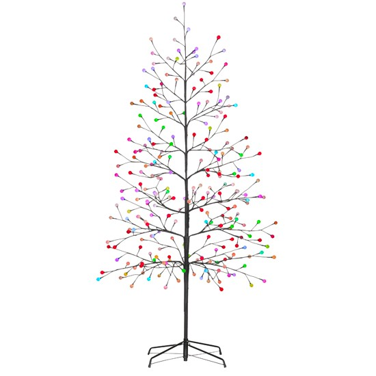 Outside Christmas Lights John Lewis: Colour-changing Ball Tree From John Lewis