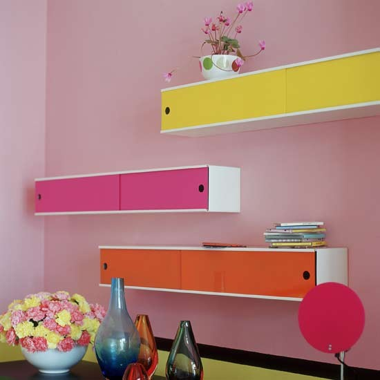 Colourful CD Cabinets Media Storage Ideas To Steal