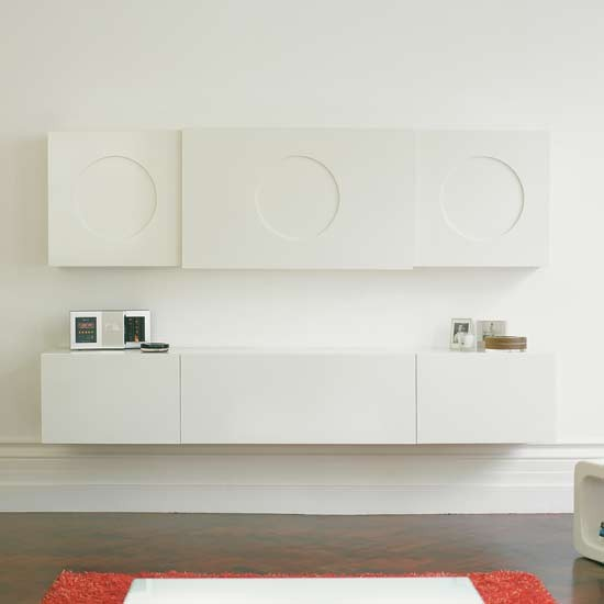 Minimal cabinets Media storage ideas to steal  : 8minimalcabinet from www.housetohome.co.uk size 550 x 550 jpeg 20kB