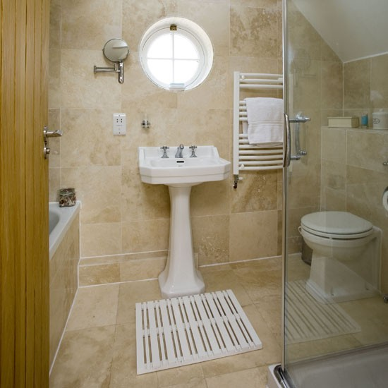 Attic shower room shower room ideas to inspire you for Bathroom designs for small spaces uk