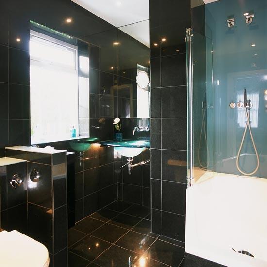 Black Gloss Shower Room Shower Room Ideas To Inspire You