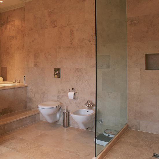 Limestone shower room shower room ideas to inspire you for Bathroom room ideas
