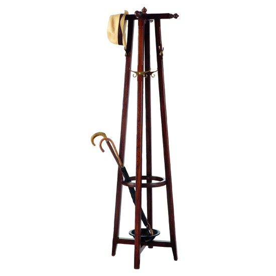 Harvard coat stand by OKA Direct | coat stand | storage | stylish furniture | hallway | PHOTO GALLERY | 25 Beautiful Homes | Housetohome